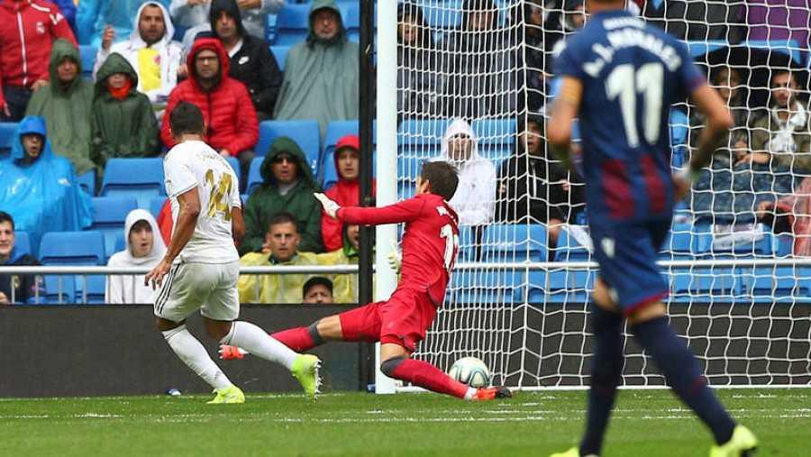 Casemiro marca el 3-0