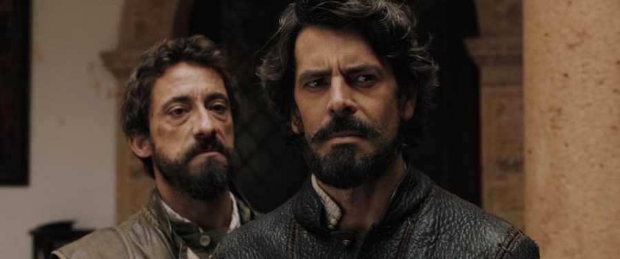 Eduardo Noriega interpreta a Pedro Valdivia