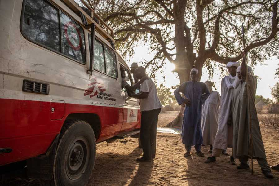 Las comunidades nómadas son difíciles de alcanzar en la región de Am Timan, ya que viven lejos de las aldeas