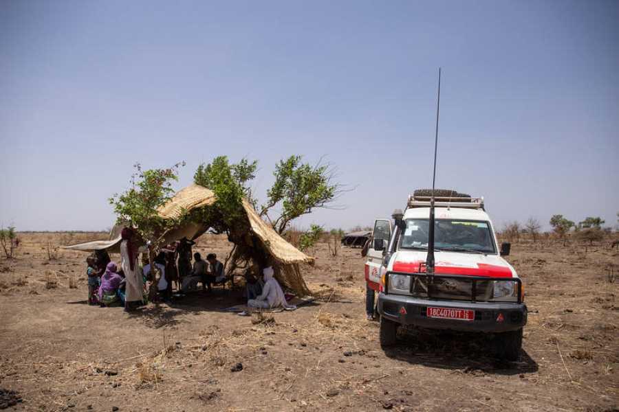 MSF está apoyando a la población en el distrito de Am Timan, región de Salamat, con una vacunación masiva contra el sarampión
