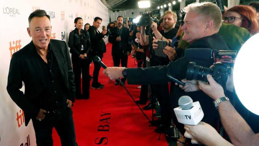 'The Boss', durante la presentación del documental 'Western star' en el Festival de Cine de Toronto.