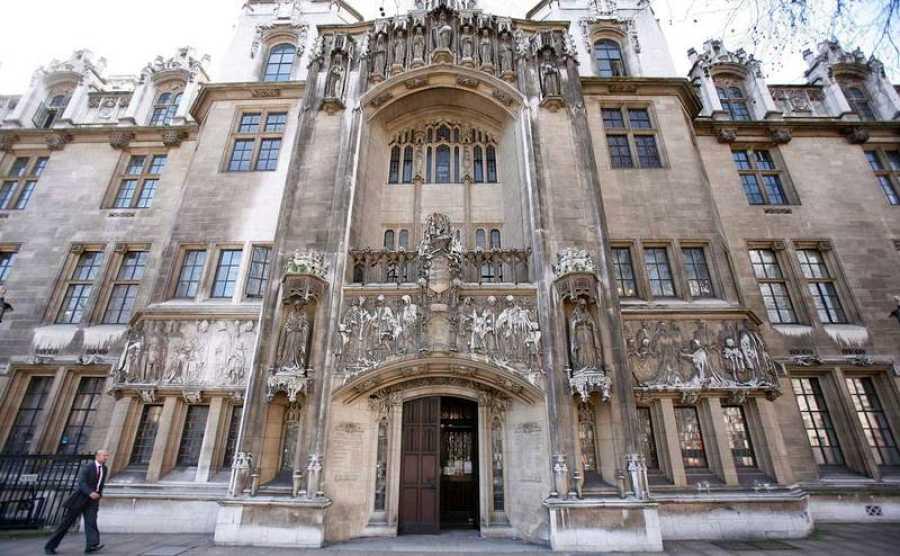 Fachada del Tribunal Supremo londinense en una imagen de archivo.