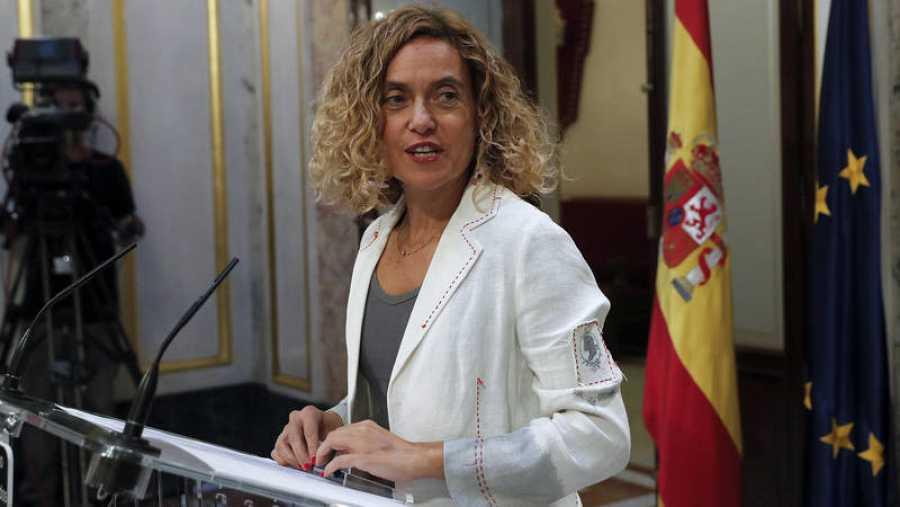 La presidenta del Congreso de los Diputados, MeritxellBatet