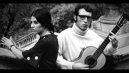 Eugenio con su esposa Conchita
