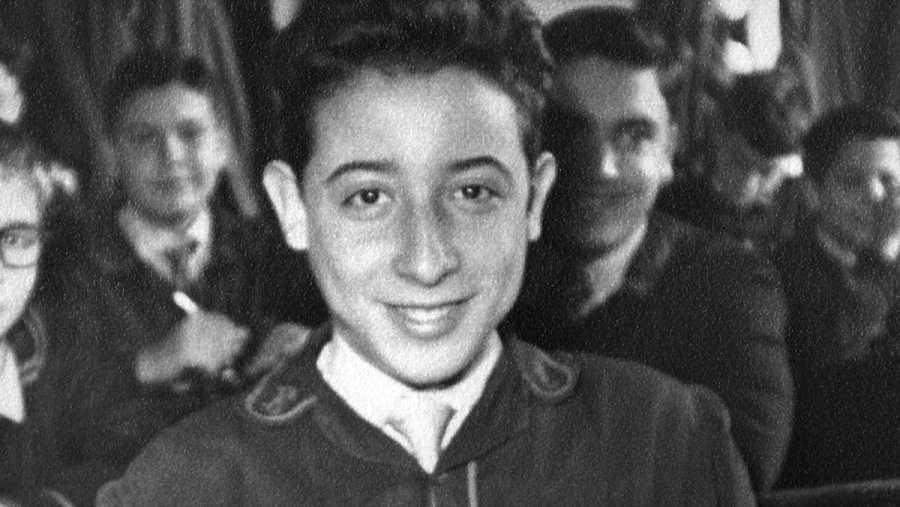 Eugenio cuando era un niño