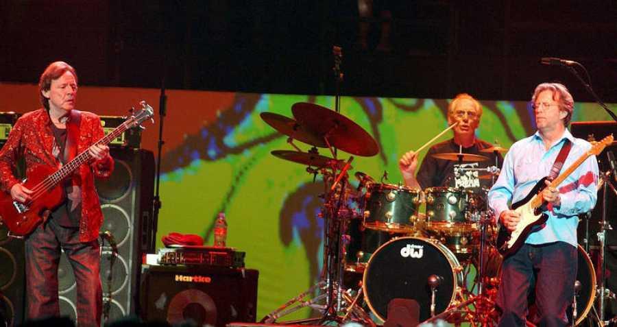 Cream, durante sus conciertos de reunión en 2005.
