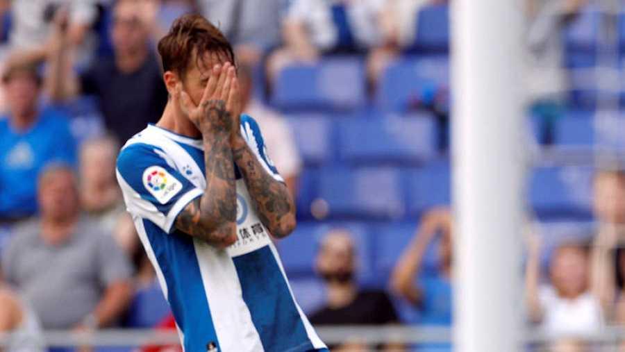 El Espanyol, de los puestos europeos la pasada campaña a los de descenso en la presente.