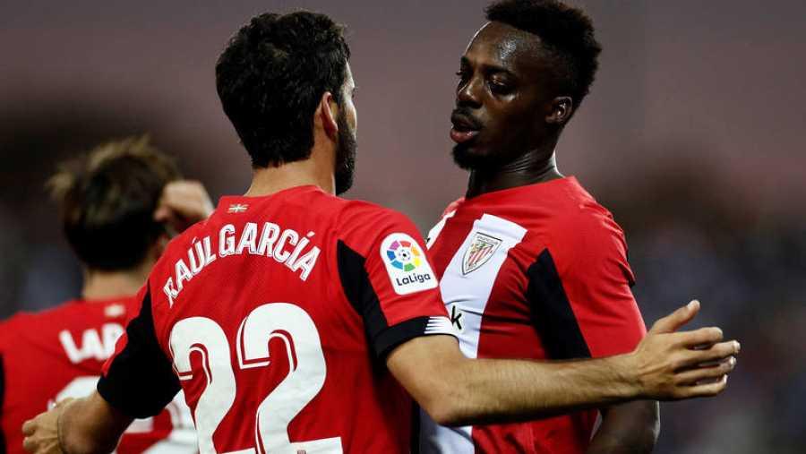 El Athletic de Bilbao, también en racha como Real Sociedad y Granada.