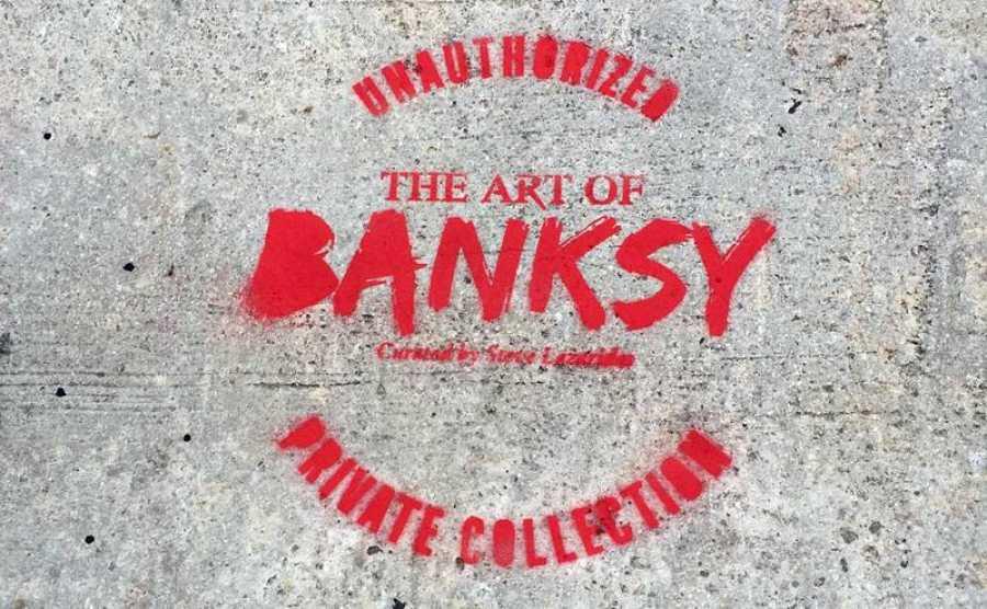 Vista del logo de la exposición