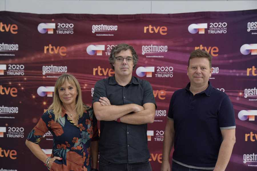 Toñi Prieto, Nacho Gómez y Tinet Rubira