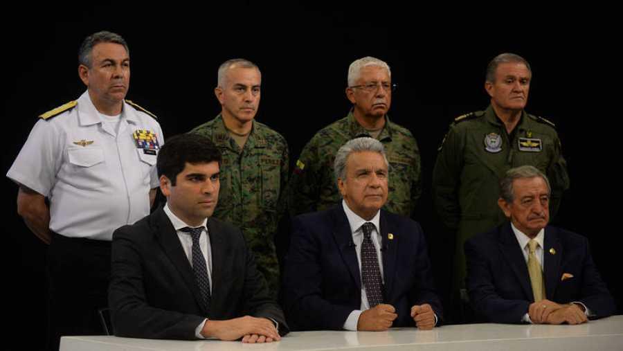 Gobierno de Moreno se traslada a Guayaquil por recrudecimiento de disturbios