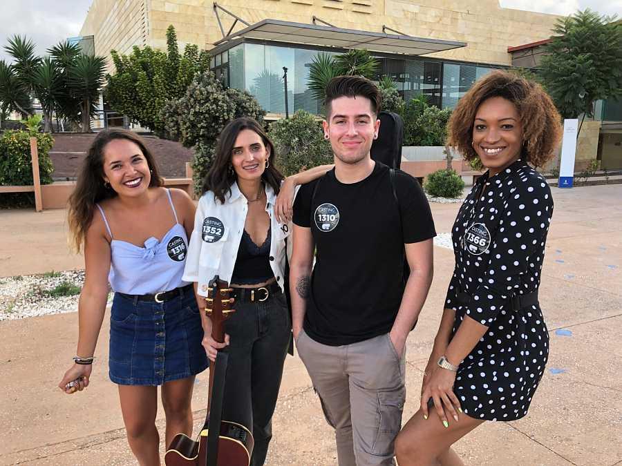 Seleccionados segundo grupo en la fase 2 del casting OT 2020 en Las Palmas de Gran Canaria