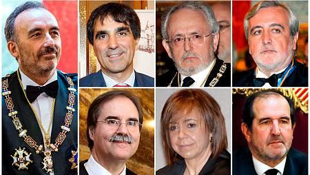 6 homes i una dona conformen el Tribunal Suprem