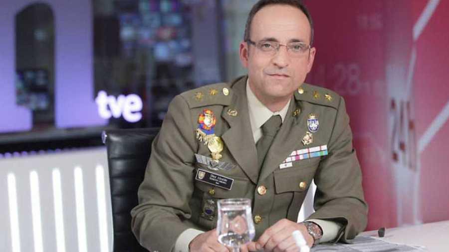 Jesús Díez, Teniente Coronel del Ejército de Tierra y analista del Instituto Español de Estudios Estratégicos