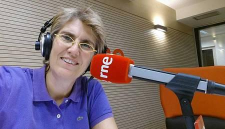 La periodista deportiva de TVE Paloma del Río.