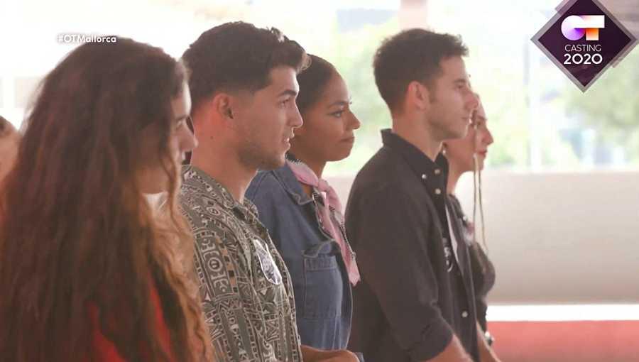 Los cinco seleccionados del primer grupo de la fase 2 del casting de OT 2020 en Palma de Mallorca