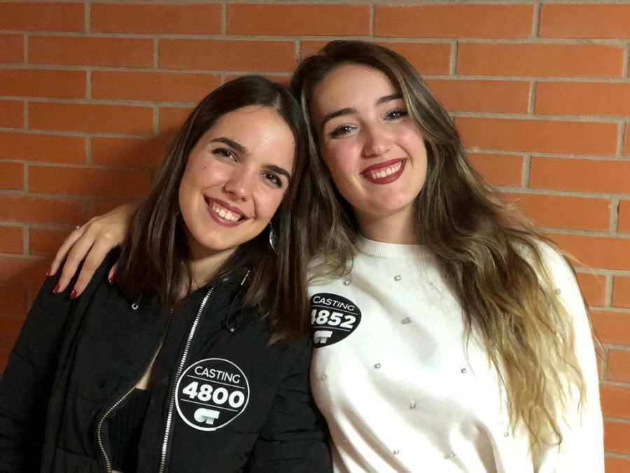 Seleccionadas del primer grupo en la Fase 2 del casting OT 2020 en Málaga