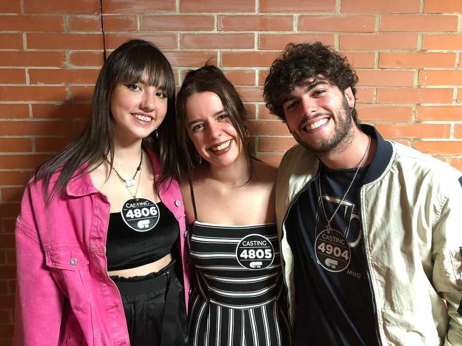 Seleccionados del segundo grupo en la fase 2 del casting de OT 20202 en Málaga