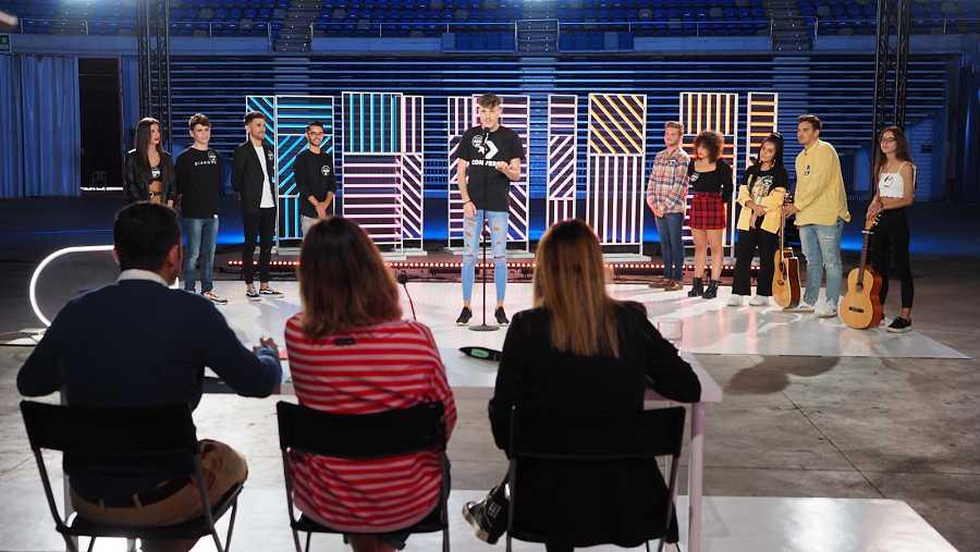 Tercer grupo preparado en la fase 2 del casting de OT 2020 Málaga
