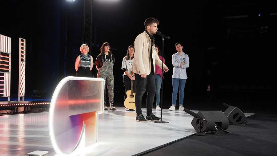 El primero en cantar  del grupo 1 en la Fase 2 del casting OT 2020 en Sevilla