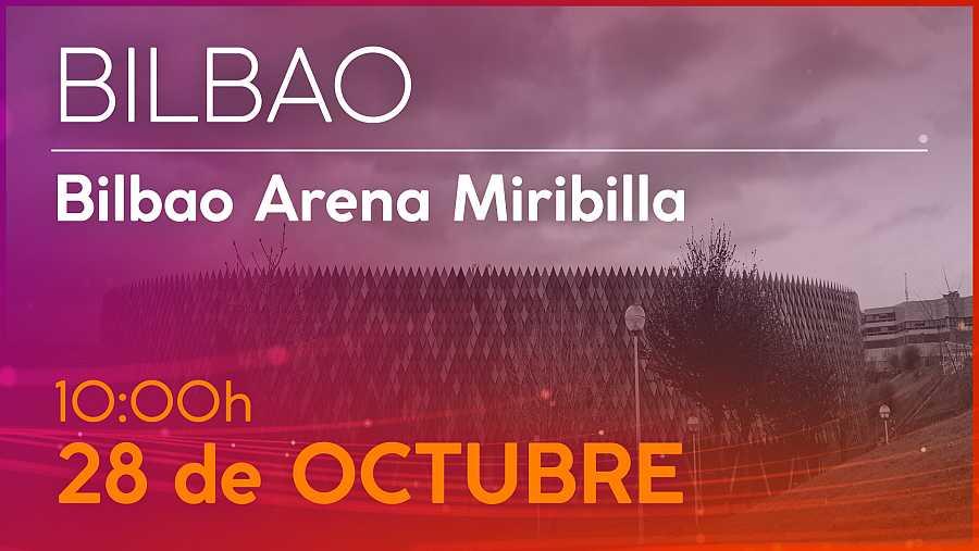 Cartel convocatoria del casting de OT 2020 Bilbao