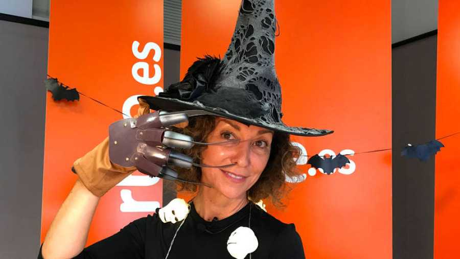 Yolanda Flores nos invita a pasar un Halloween 'de película'.