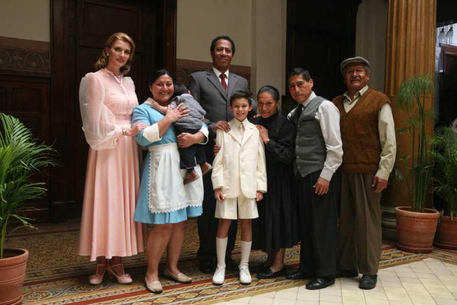 Tras cinco semanas de rodaje en Lima ha terminado la grabación de la tvmovie 'Un mundo para Julius'