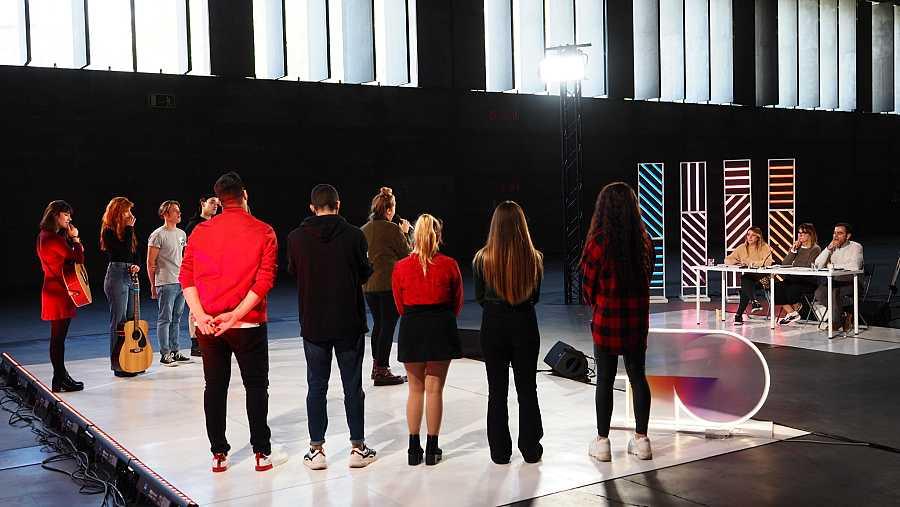 El quinto de los ocho grupos, arrancando en la Fase 2 del casting OT 2020 en Madrid