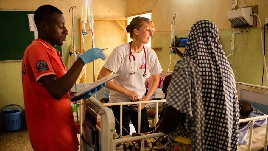 MSF Nigeria atiende a miles de desplazado en la ciudad de Anka