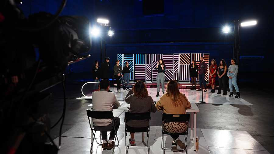 Último grupo empezando a acabar el casting en la Fase 2 del casting OT 2020 en Madrid