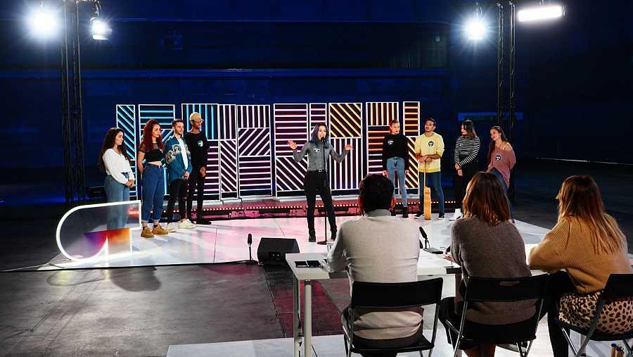 Un momento de la fase 2 del casting OT 2020 en Madrid