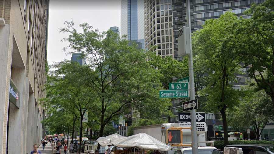 Sesame Street, calle que recuerda la famosa serie de Barrio Sésamo