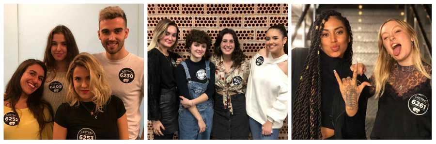 Seleccionados en Bilbao en la Fase 2 del casting OT 2020