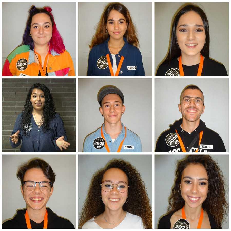 Primer grupo de seleccionados en Barcelona en la Fase 2 del casting OT 2020