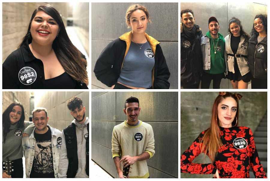 Seleccionados en Madrid en la Fase 2 del casting OT 2020