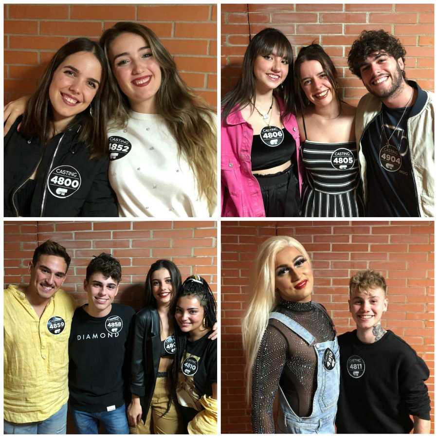 Seleccionados en Málaga en la Fase 2 del casting OT 2020