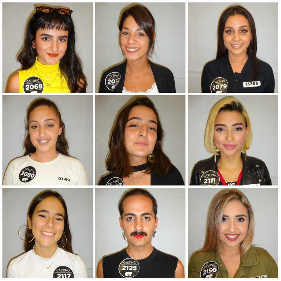 Tercer grupo de seleccionados en Barcelona en la Fase 2 del casting OT 2020