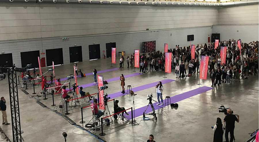 Primer día de casting en Barcelona para la próxima edición de OT 2020