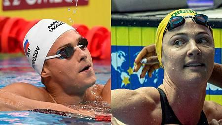 Morozov (i) y Campbell, en un fotomontaje