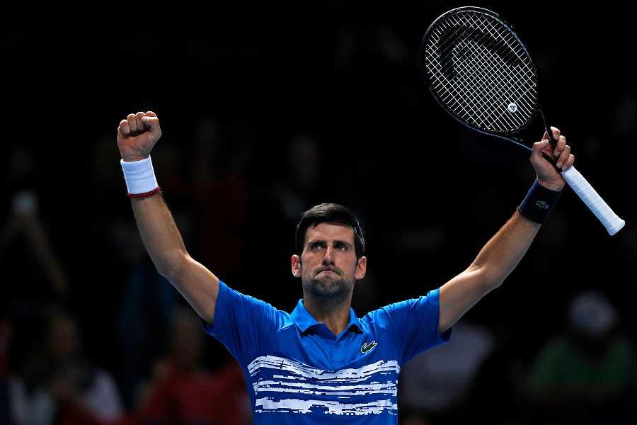 Djokovic en la Copa de Maestros