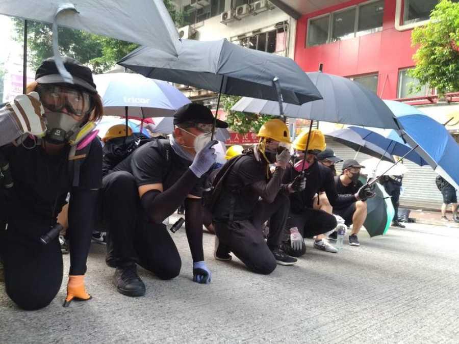 'En Portada' vive las protestas de Hong Kong