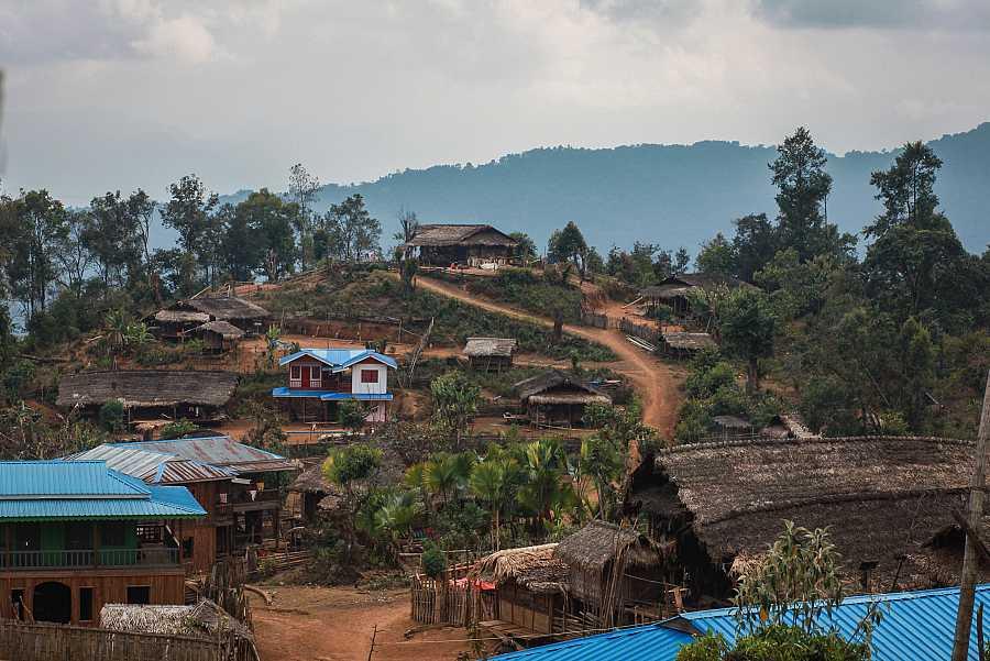 Imagen de la aldea de Hay Khun, Naga