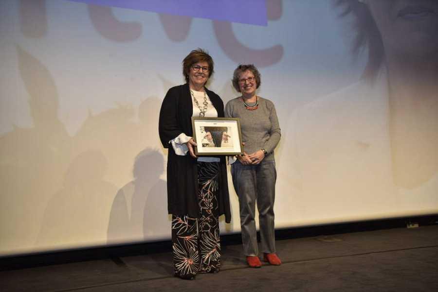Ha dedicado el premio a las jóvenes que quieren ser periodistas deportivas