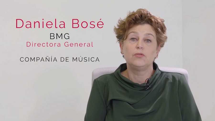 Daniela Bosé, directora general de Palacio Vistalegre, en ''Mujeres de la música''
