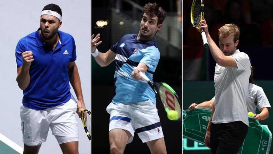 Francia, Argentina y Kazajistán debutan con victoria en la Davis
