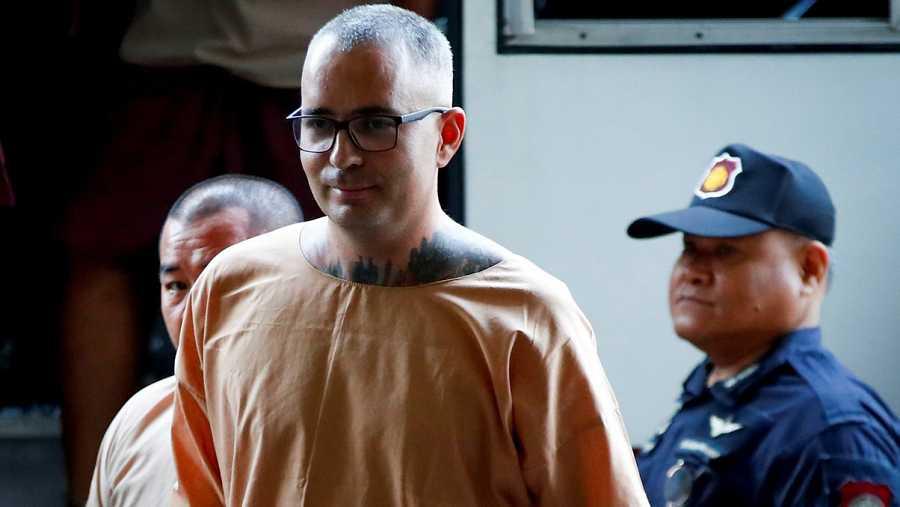 El español Artur Segarra, condenado a muerte en Tailandia, en una imagen de archivo.EFE/EPA/DIEGO AZUBEL