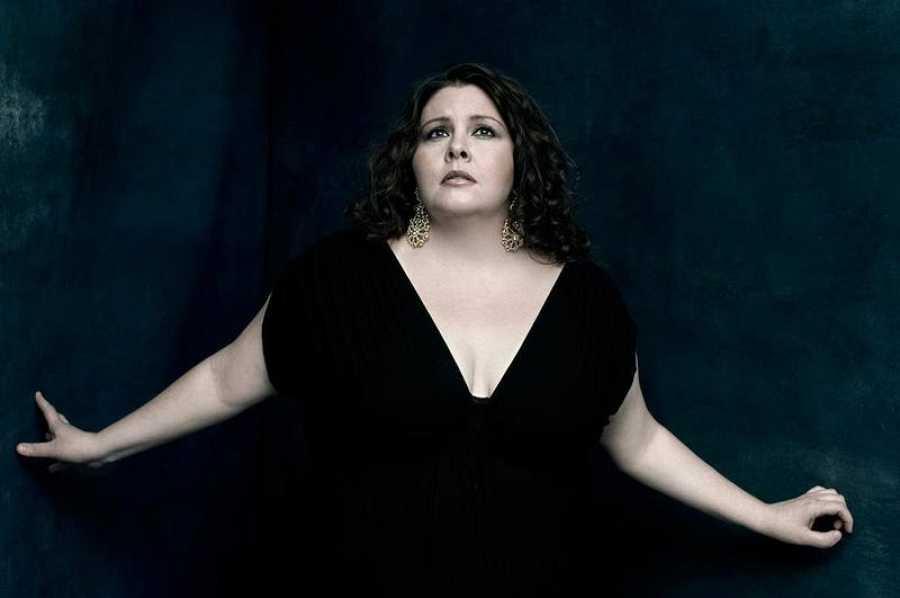 La soprano norteamericana Angela Meade