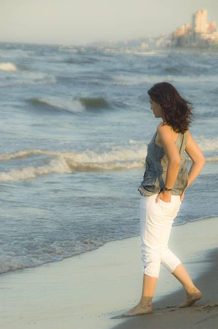 La estudiante, interpretada por Celia Freijeiro, en `Ángel Llorca. El último ensayo¿