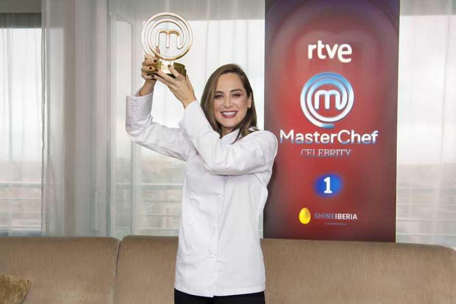 Tamara, ganadora de 'MasterChef Celebrity 4'
