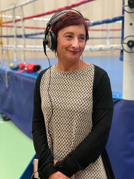 Ana José Cancio, periodista de RNE desde 1983